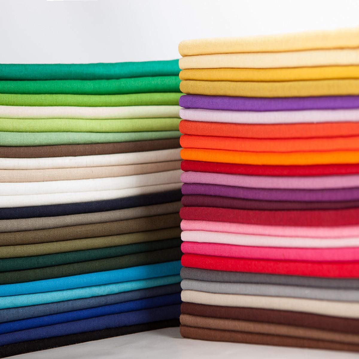 HEDU Plain Pure Color Linen Fabric Cotton Linen Clothing Fabric Pants Material DIY Cotton Linen Hand