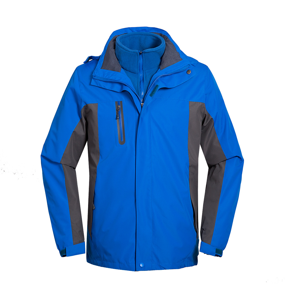 New outdoor clothing men's jacket two-piece three-in-one thick warm mountaineering suit