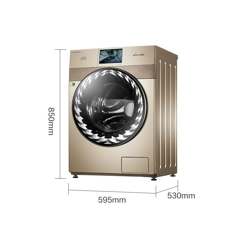 Little Swan Beverly 10kg washing machine fully automatic household tumble washing and drying machine