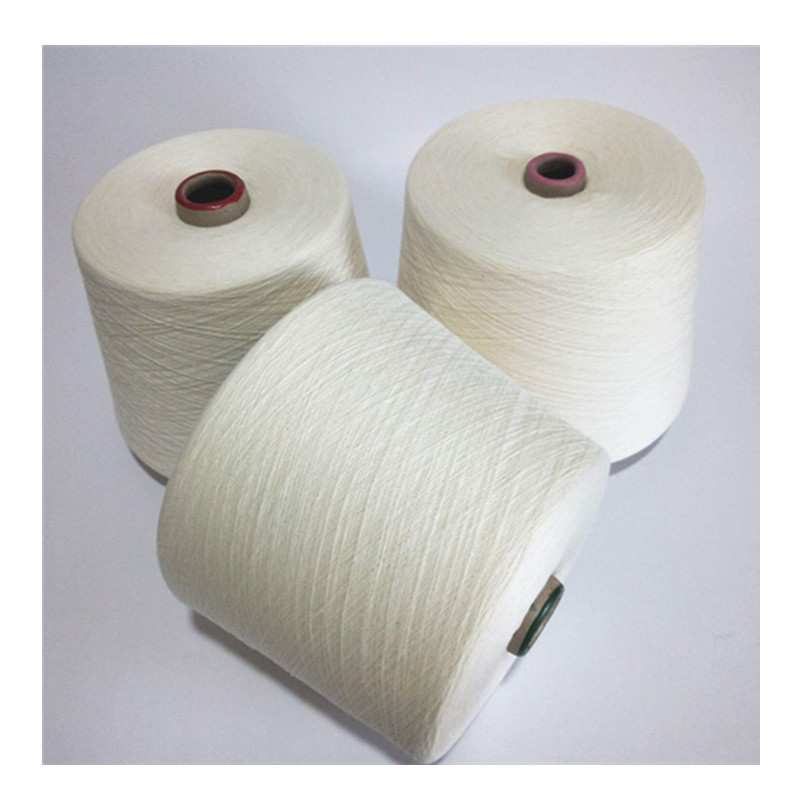 HUAFENG Vortex spinning 30 count polyester viscose yarn T65/R35 polyester viscose blended yarn singl