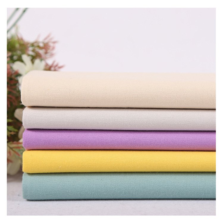 DONGNING Cotton canvas 8-amp dyed canvas fabric handbag, clothing, case, bag, sofa cover fabric