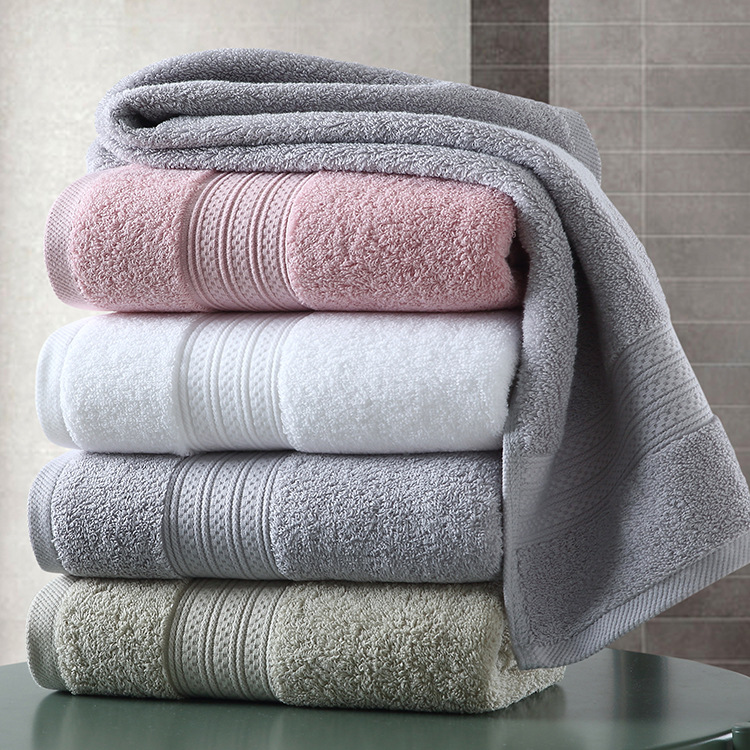YIZHOU Camille cotton bath towel 32 thread long wool loop enlarged thickened towel pure cotton soft