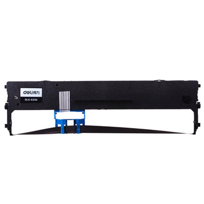 DELI Effective original DE-620k ribbon ribbon frame + ribbon core suitable for 620K printer needle t