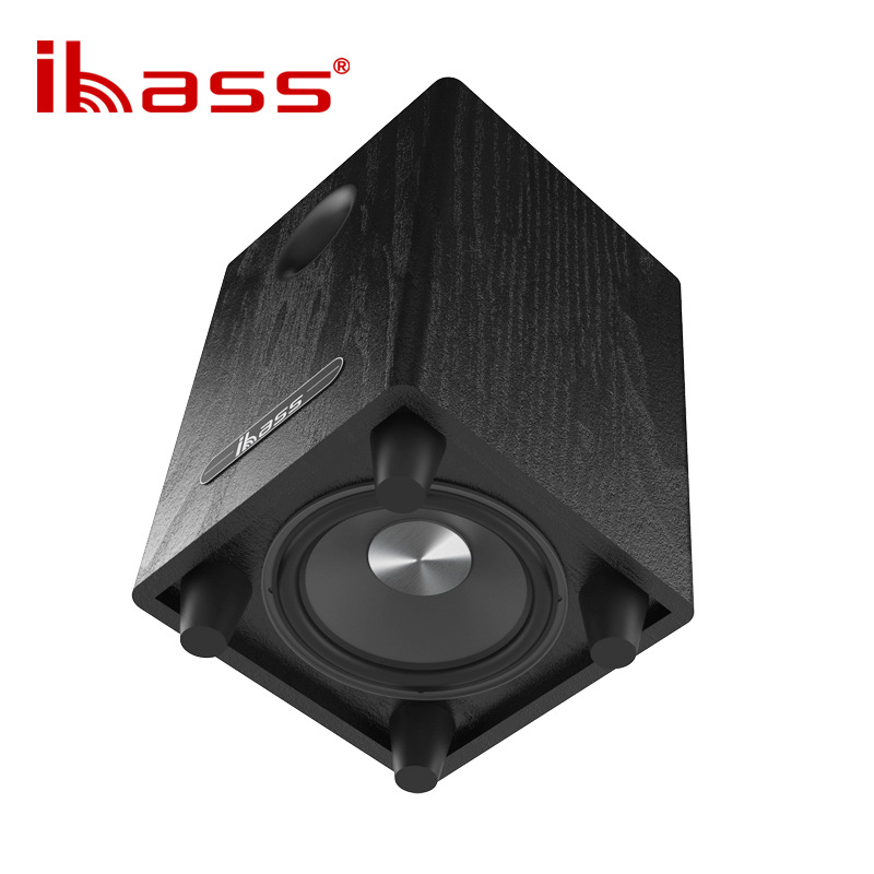 ibass 6.5 inch passive subwoofer with home power amplifier and car SW bass output home theater