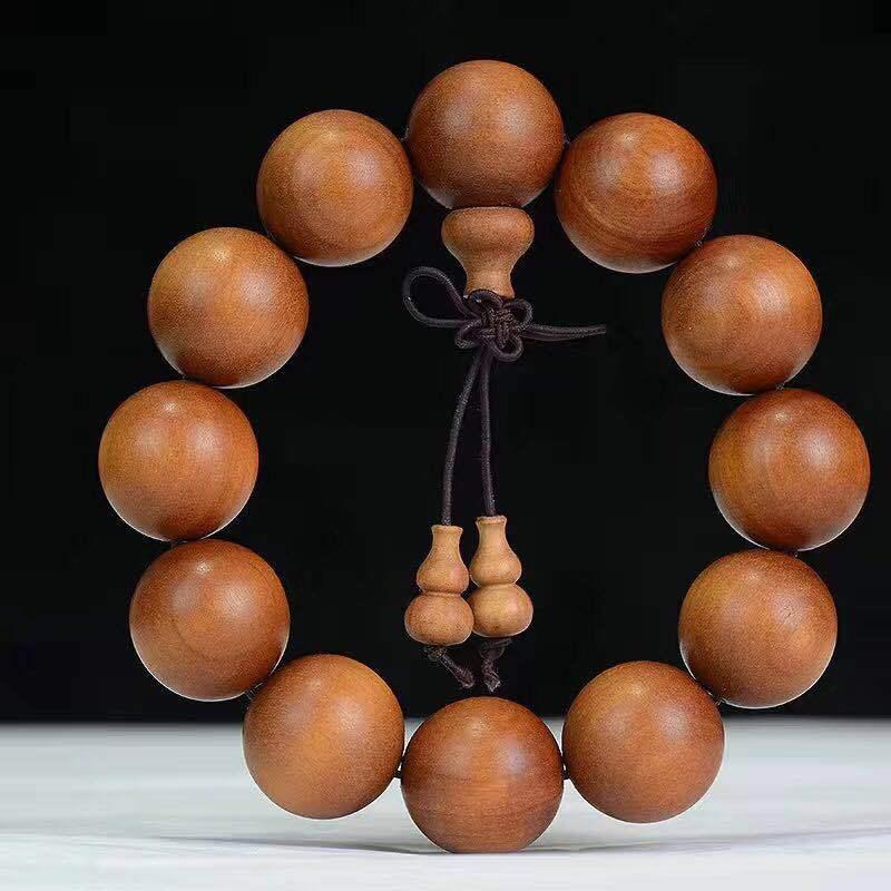 108 pieces of red flesh submerged Bracelet sandalwood Buddha beads