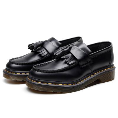 Giày Mọi lười bằng Da mềm kiểu tua rua cho phụ nữ