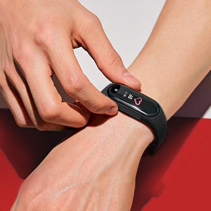 Vòng đeo tay thông minh Giữ vòng đeo tay theo dõi nhịp tim thông minh Máy đo bước đi thể thao blueto