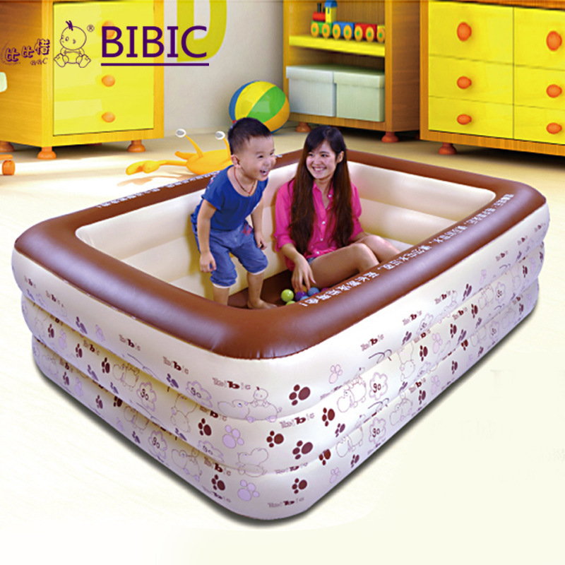 BIBIXI Thickened children's inflatable swimming pool indoor baby ocean ball pool baby swimming pool