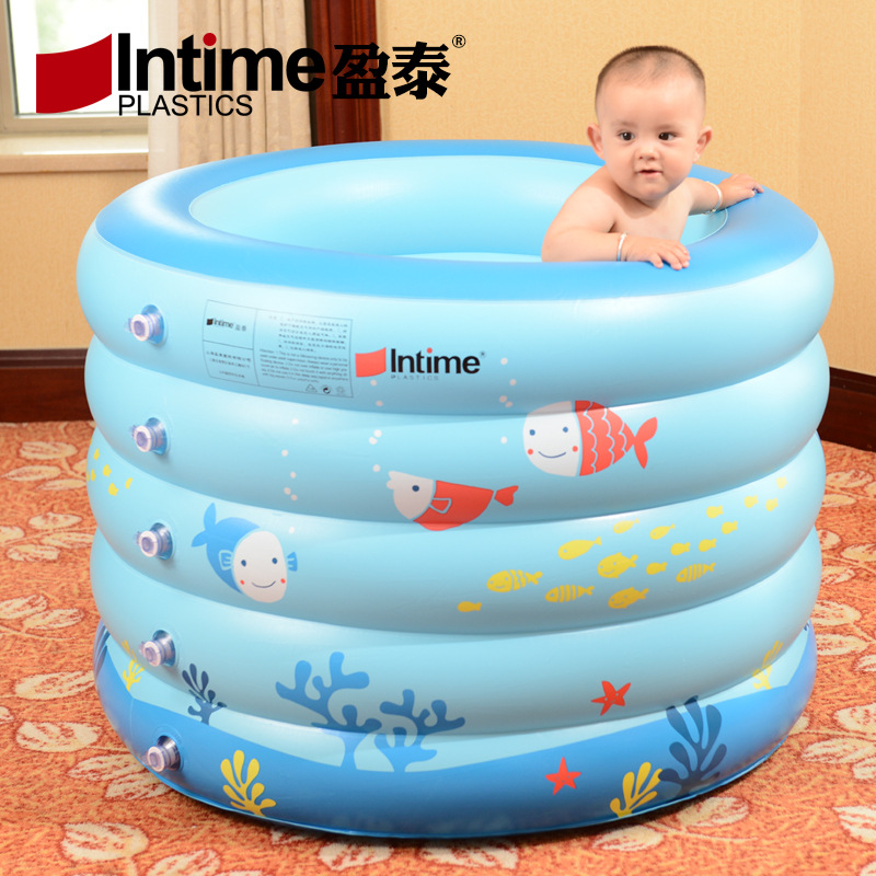 INTIME Yingtai baby swimming pool inflatable insulation baby children's swimming pool play pool lar