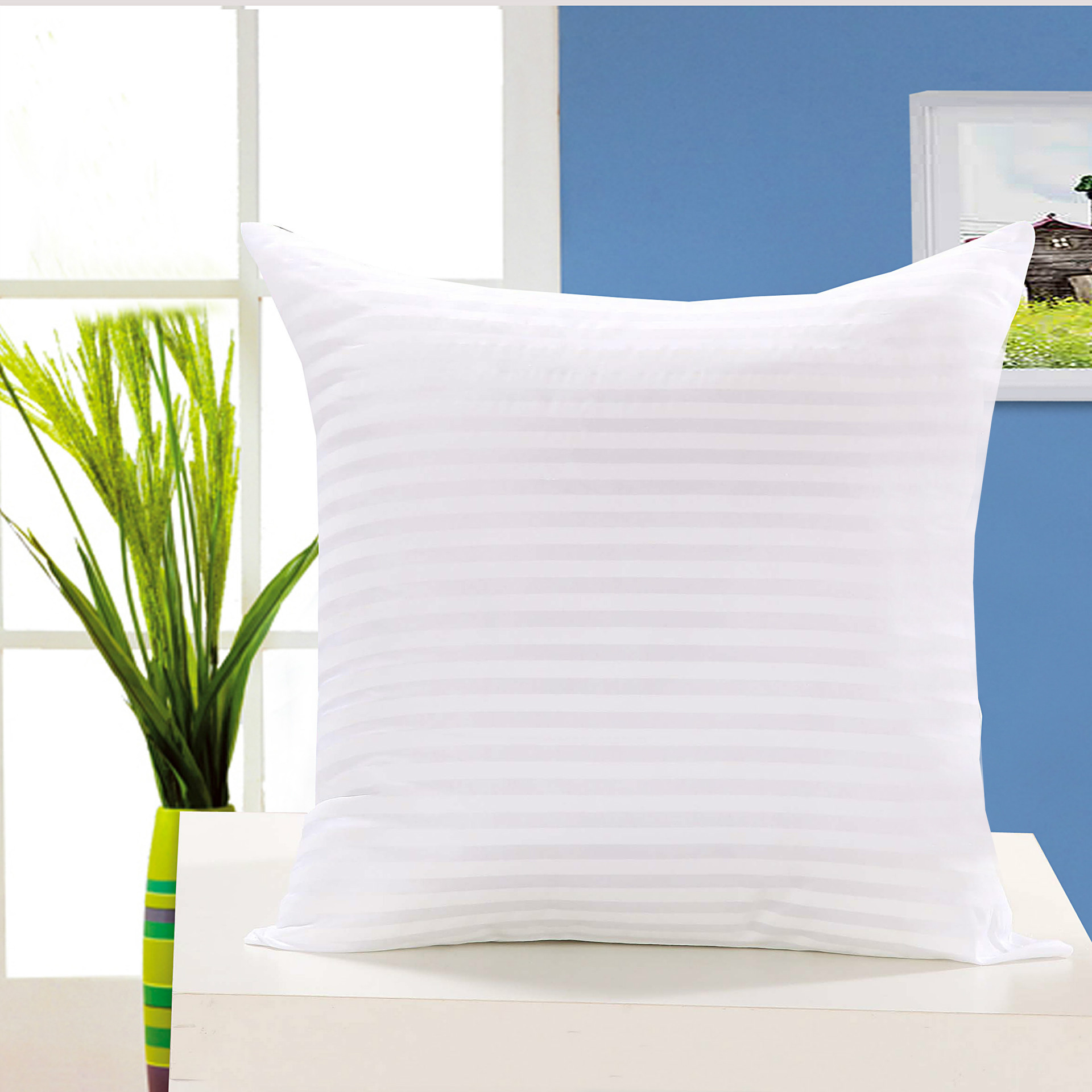 AIMENG Cushion pillow core 45*45 50 wholesale interwoven cotton pillow vacuum packaging
