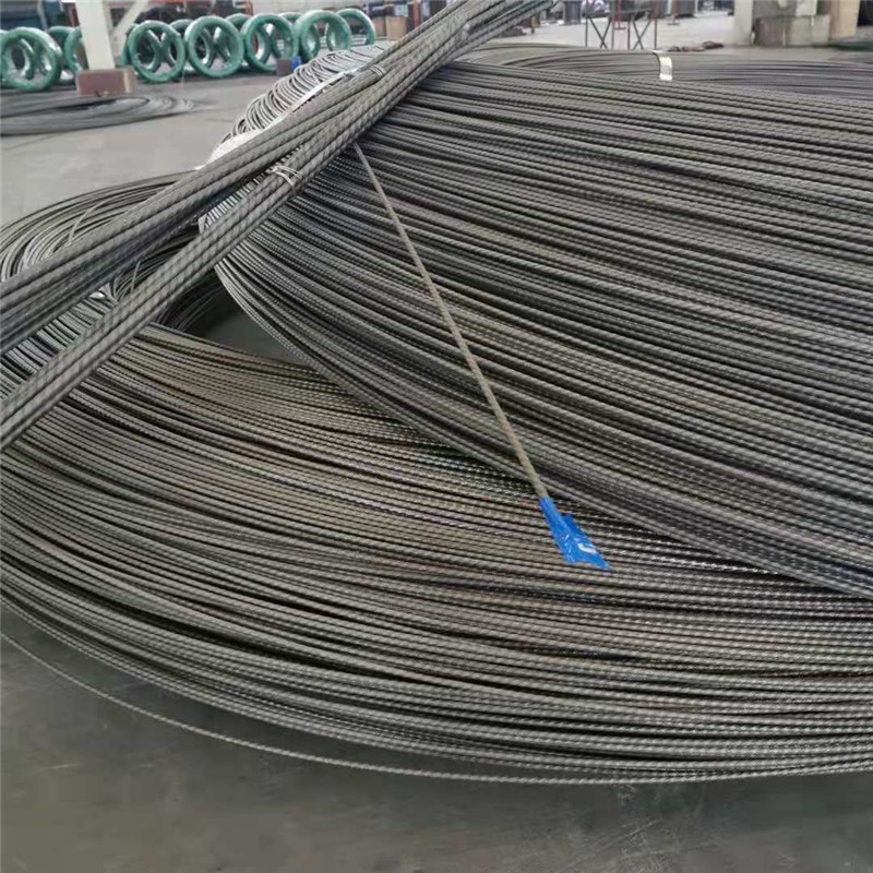 Cold drawing straightening and cutting off Q235 cold drawing of high strength high speed wire rod