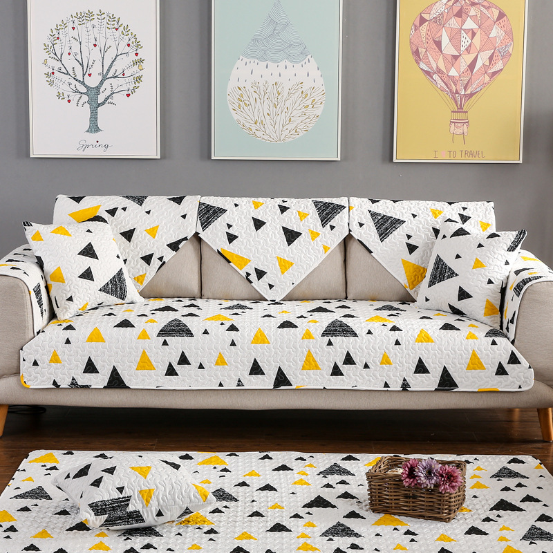 Meizhiran customized modern simple four seasons cotton non-slip sofa cushion