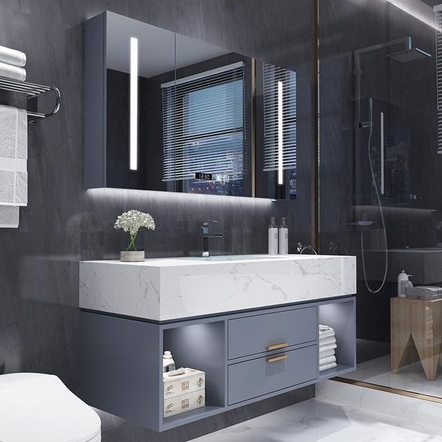 YIDA Bathroom vanity basin, hotel large size bathroom counter basin, marble bathroom cabinet combina