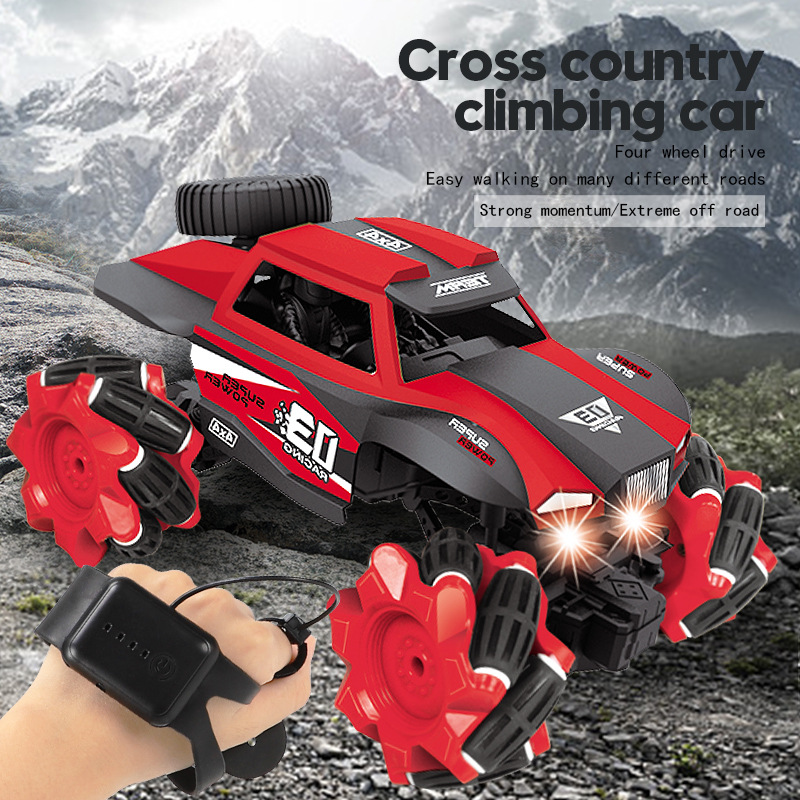 Gesture sensing light remote control climbing off-road vehicle children's toy remote control car to