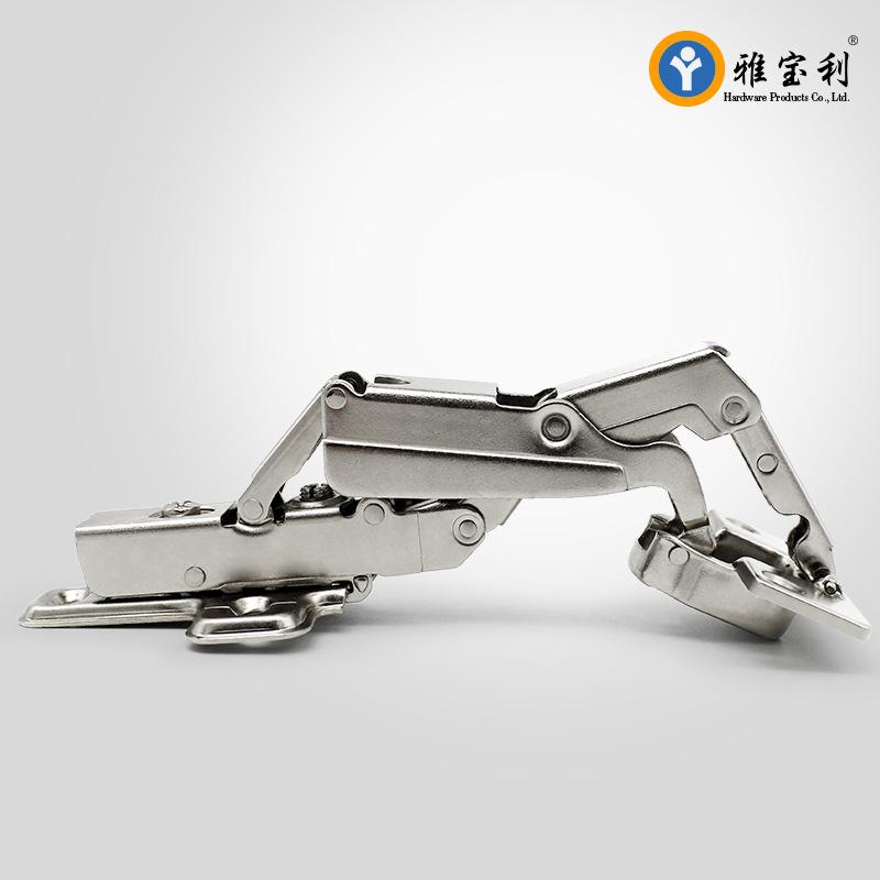 YABAOLI Direct hydraulic damping mute 165 ° 175 ° 180 hinge cabinet hinge hinge with large angle