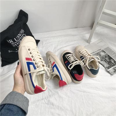 Giày bata thể thao chất liệu vải Ins siêu hot .