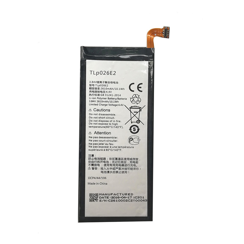 CHONGXING Applicable to Alcatel Alcatel tlp0262e2 tlp026ej cell phone battery idol 4/ot6055