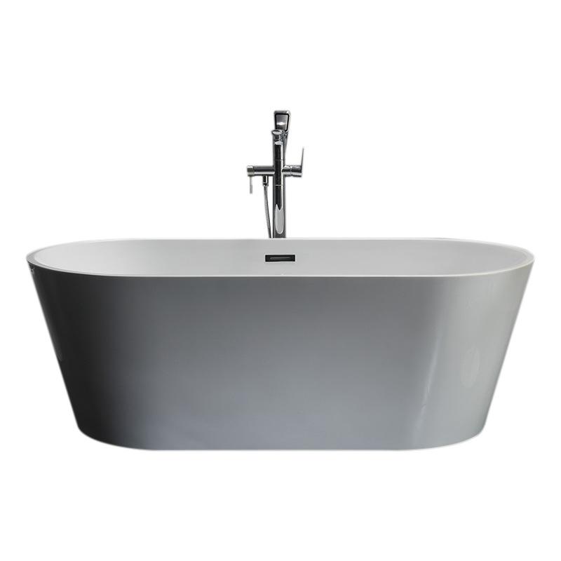 Bồn tắm acrylic liền mạch với thiết kế Phong cách châu Âu