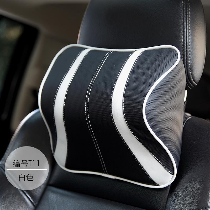 Gối bảo vệ cổ memory cotton tựa đầu ô tô .