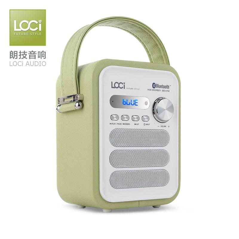 Loa radio thẻ nhớ không dây Bluetooth loci P50