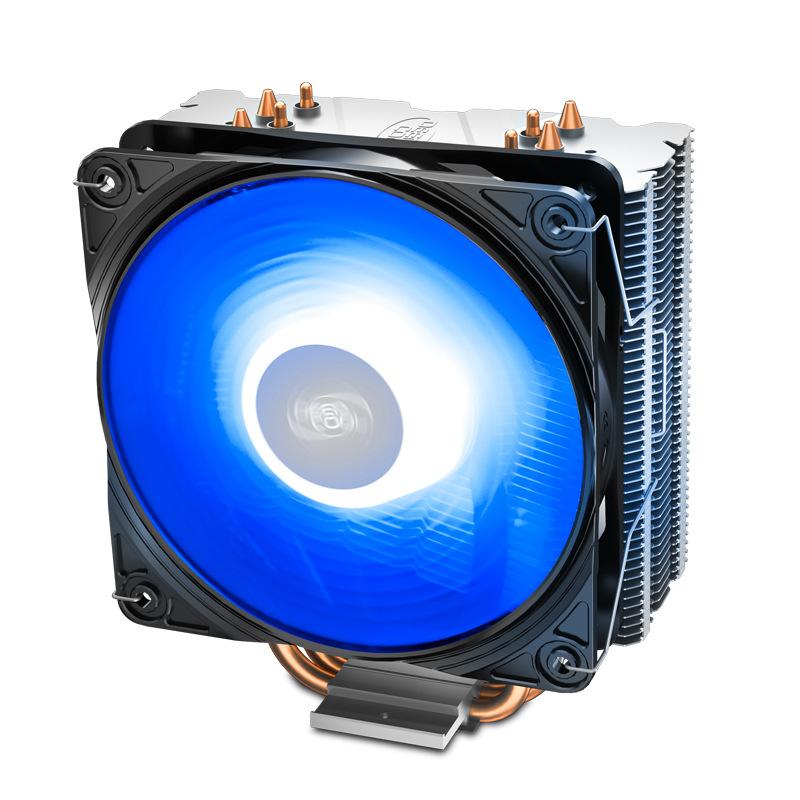 Deepcool Kyushu Fengshen Xuanbing 400 CPU radiator copper tube desktop mute I5 computer I3CPU fan 11