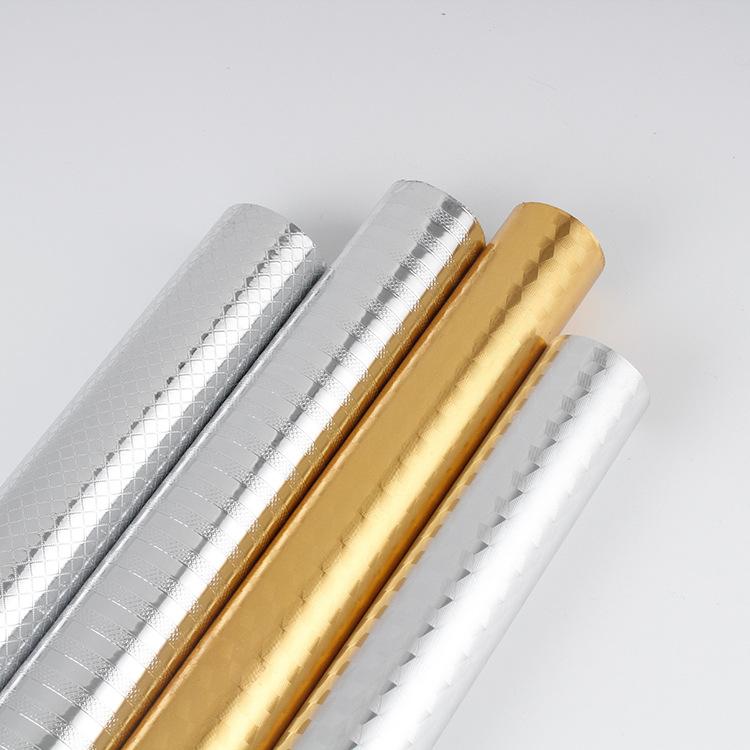 YONGCHUAN Oil proof aluminum foil stick kitchen oil proof sticker high temperature waterproof stick