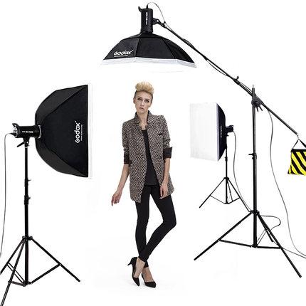 Shenniu Thị trường âm h ưởng Đèn chụp ảnh Shenniu SK400W trong nhà chân dung chuyên nghiệp studio đè