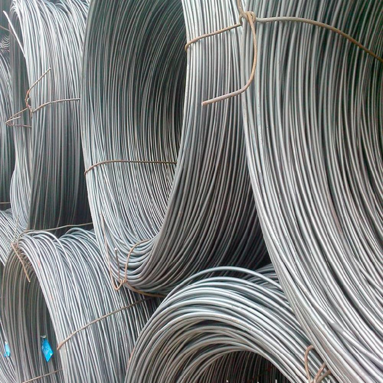 Supply all kinds of wire rod for building, high wire rod, common thread steel, etc