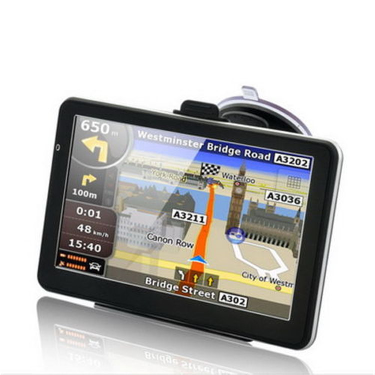 7 inch high definition GPS navigator