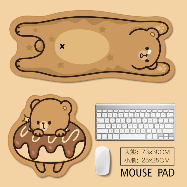 LANDNA Shaped mouse pad cartoon animal mouse pad office mouse pad wholesale