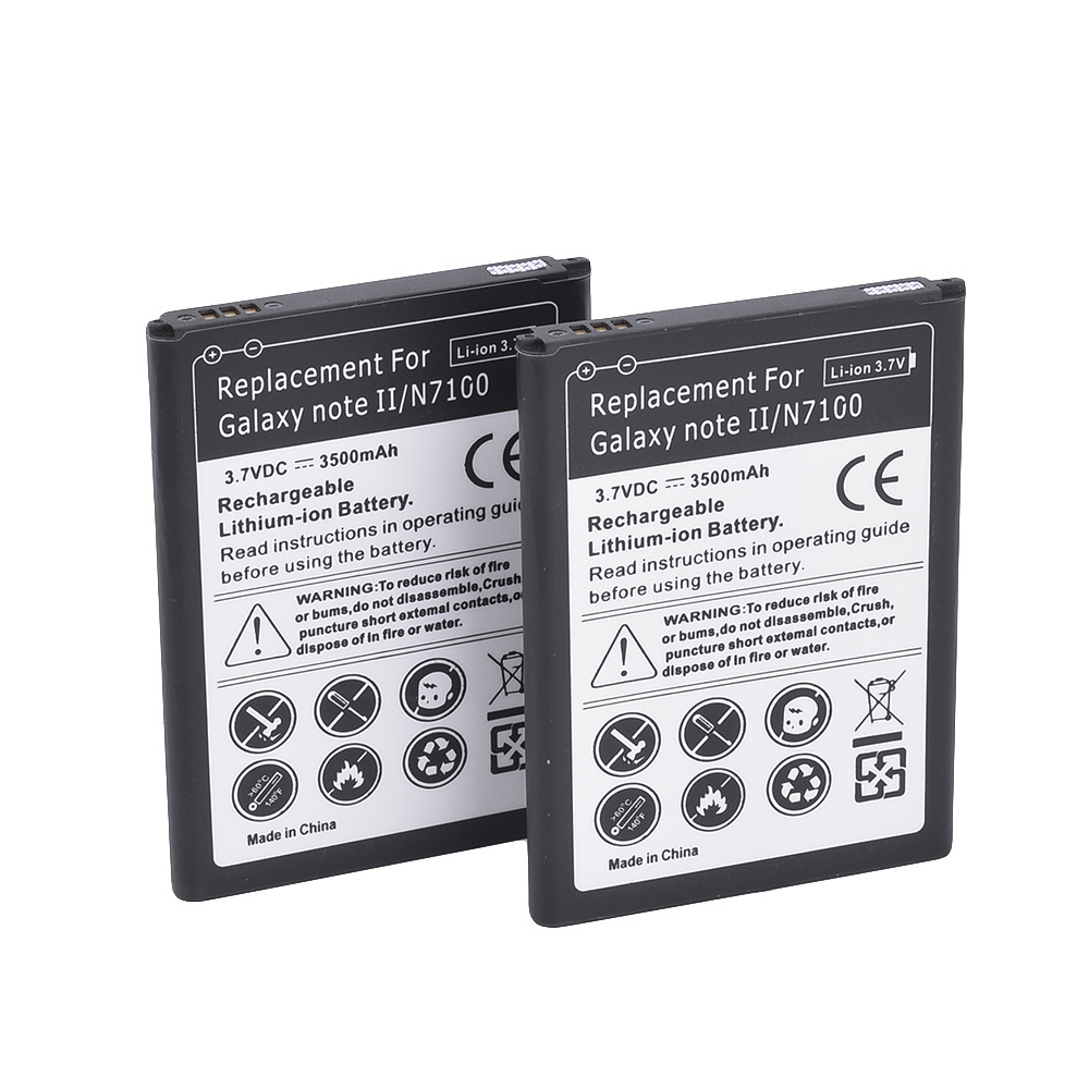 Suitable for Samsung Galaxy series n7100 Note2 cell phone battery single direct selling polymer