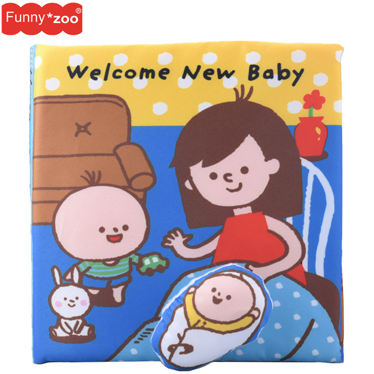 2020 new children's early education baby baby toy cloth book enlightenment baby toy bath toy childr