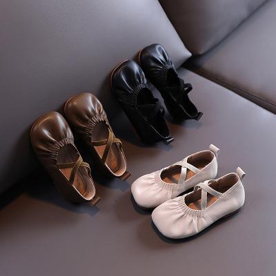 Giày mọi da mềm dễ thương dành cho bé gái