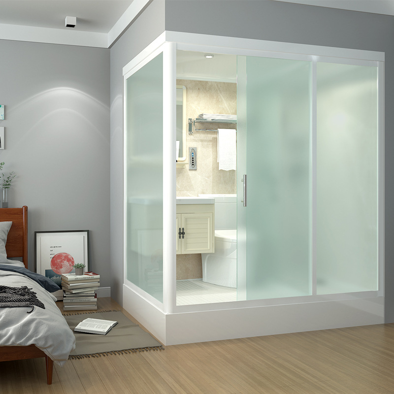 XILEIDENG Integral shower room, household integral bathroom, integrated shower room, simple shower r