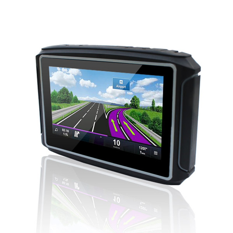 Supply 4.3-inch GPS motorcycle voice navigation 7-level waterproof multi-functional portable navigat