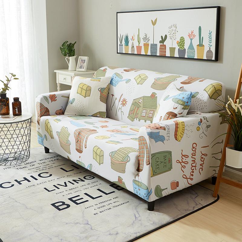 NTLS All-inclusive universal universal sofa cover four seasons fabric sofa cushion summer full leath