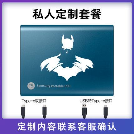 Ổ cứng di động  Ổ cứng thể rắn di động Samsung T5 500g tốc độ cao USB3.2 mã hóa di động Type-C Ổ cứn
