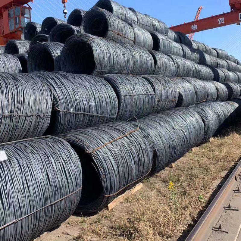 Wire Q195 Q235 q300 high speed wire rod 8 coil round 10 regular line in stock