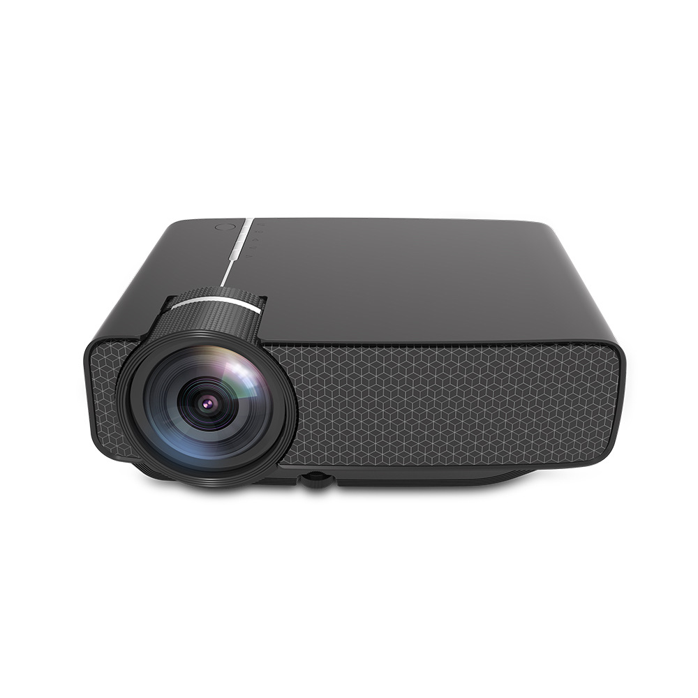 AAO new film crown yg400 high definition LED projector home office 720p cinema projector black
