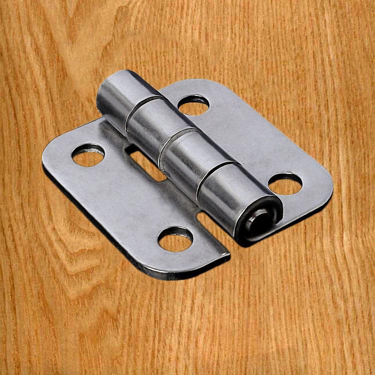 AMI 304 stainless steel hinge stainless steel round corner hinge 1.5 inch thick hinge industrial equ