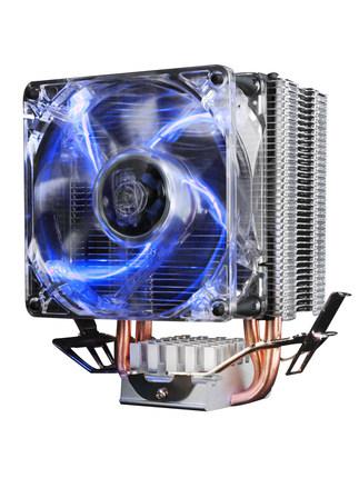 bộ tản nhiệt Ép xung ba máy tính mini Red Sea Bộ làm mát CPU 775-pin 1155 Quạt CPU AMD Desktop I5 ép