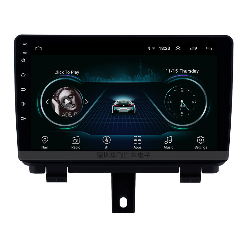 HUAFEI Suitable for 13-17 Audi Q3 HD touch screen 9 inch Android Car Navigator with built-in Bluetoo