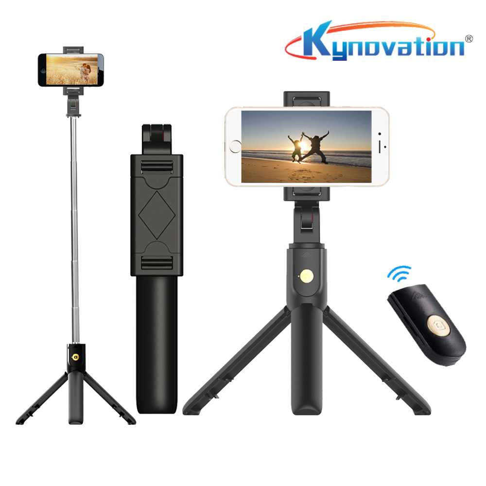 QISI Bluetooth self timer tripod self timer stick Android / IOS mobile phone universal self timer ar