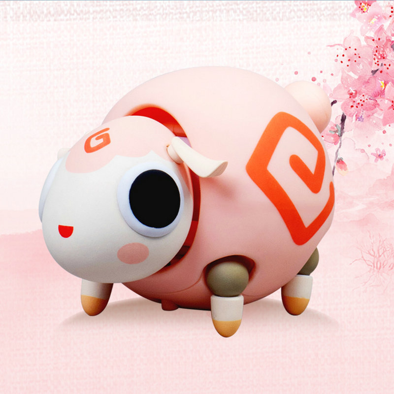 GESHU Kemo cute pet climbing good luck continuous self-propelled fashion electric toy series accesso
