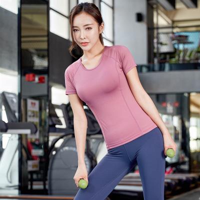 YIJIAYIPING Đồ Suits Quần áo tập yoga mới mùa xuân và mùa hè 2020 của phụ nữ chạy bộ thể dục thể tha