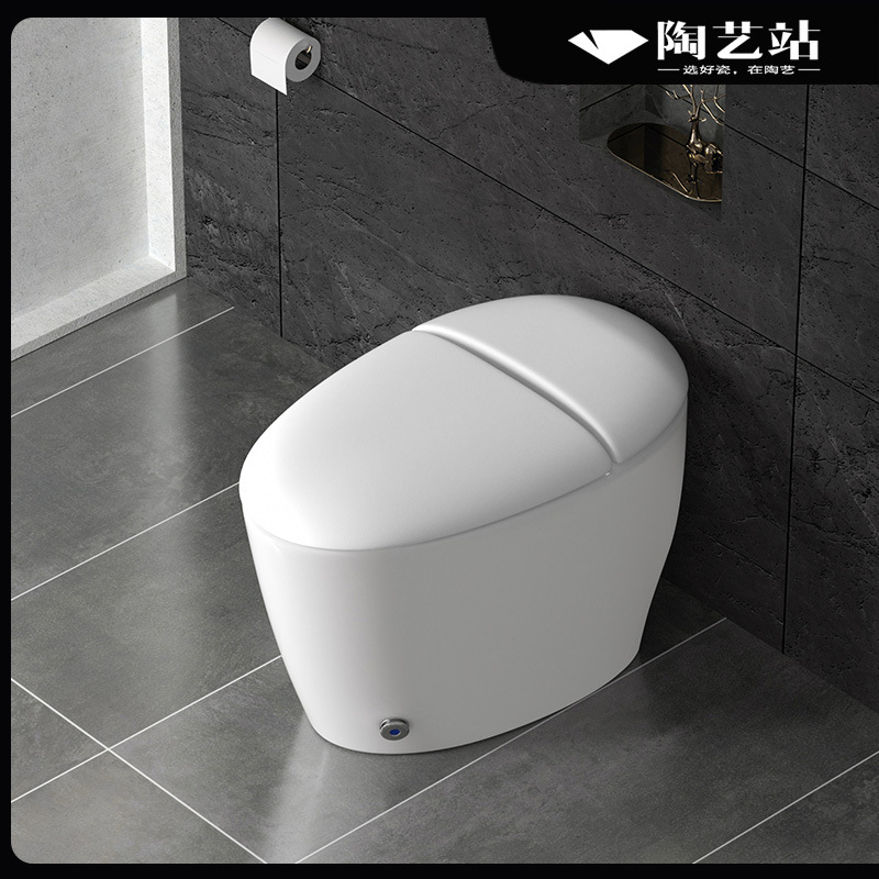Household impulse toilet without water tank integrated small apartment bathroom plug-in electric kic