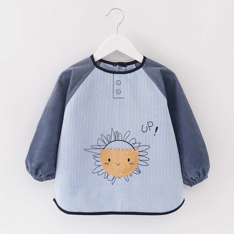DDBH Baby's coverall waterproof and anti dirty children's autumn and winter girl's reverse wear B