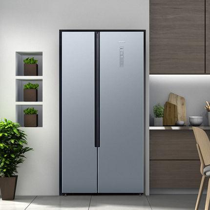 Konka Tủ lạnh  BCD-400 tủ lạnh cửa đôi điều khiển nhiệt độ máy tính gia đình tiết kiệm năng lượng tủ