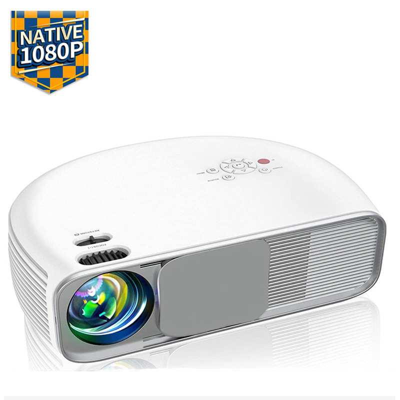Cheerlux New business office projector home teaching 1080p HD projector