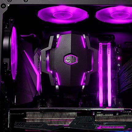 bộ tản nhiệt Cooler Extreme Blizzard t610P tản nhiệt cpu ARGB quạt máy tính để bàn 6 ống tản nhiệt i